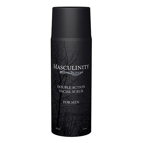 Double Action Facial Scrub Masculinity Beaute Pacifique - 100 ml.