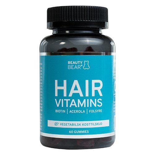 HAIR vitamins BeautyBear - 60 stk