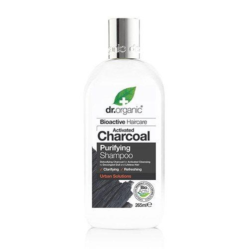 Shampoo Charcoal Purifying Dr. Organic - 265 ml. (U)