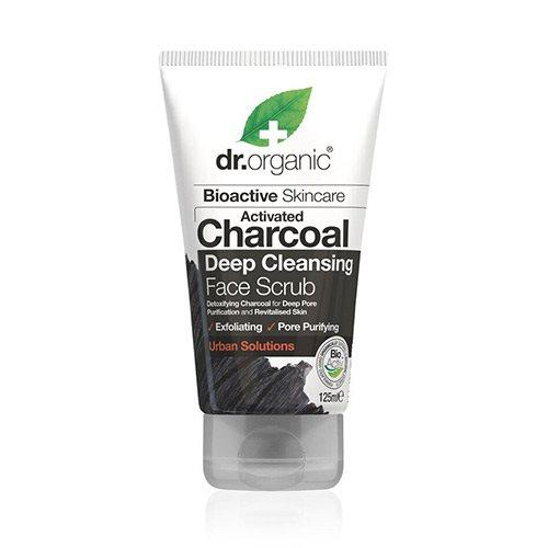 Face Scrub Charcoal Deep Cleansing Dr. Organic