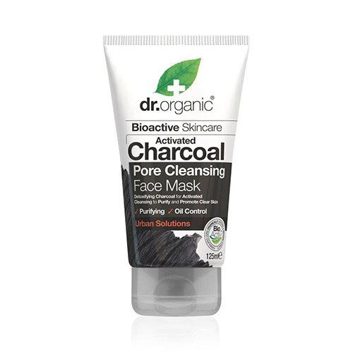 Face Mask Charcoal Pore Cleansing Dr. Organic - 125 ml. (U)