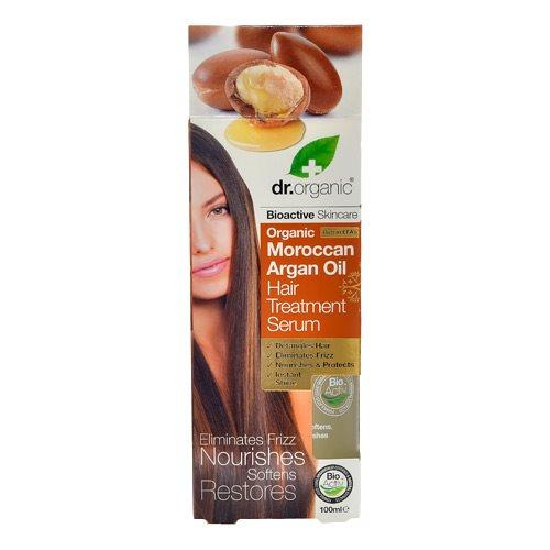 Hair elixir Argan Dr. Organic - 100 ml.