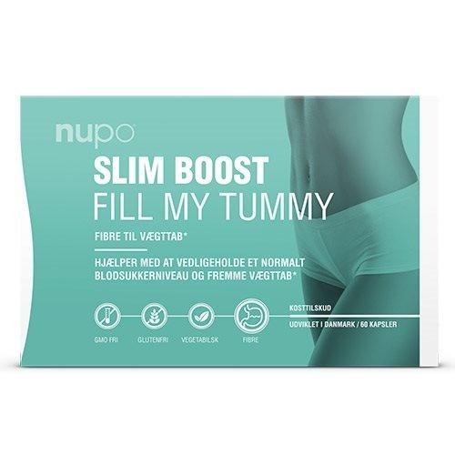 Nupo Slim Boost Fill My Tummy - 60 kapsler