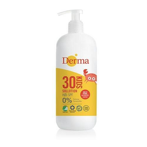 Derma kids sollotion Spf30 - 500 ml.