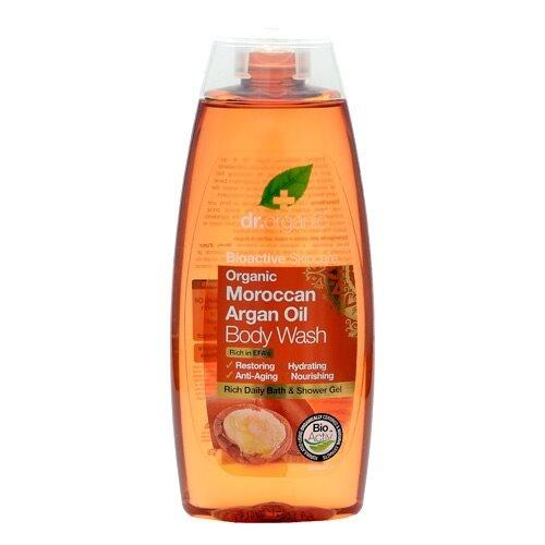 Bath & shower Argan Dr. Organic - 250 ml.