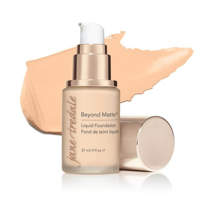 Jane Iredale Beyond Matte Liquid Foundation - M1 - 27 ml.