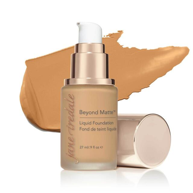 Jane Iredale Beyond Matte Liquid Foundation - M9 - 27 ml.