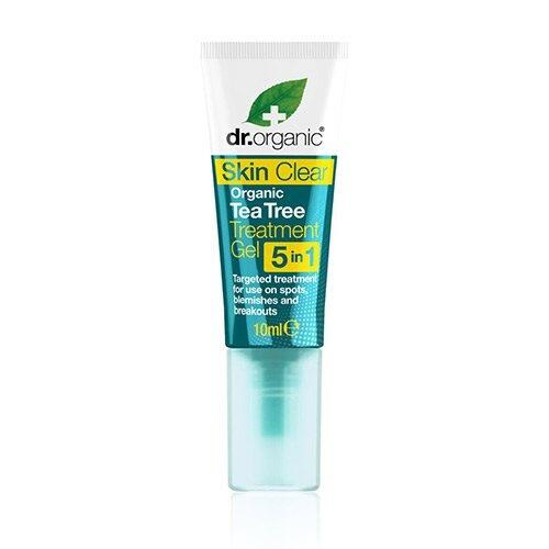 Organic tea tree treatment gel Dr. Organic Skin Clear - 10 ml.