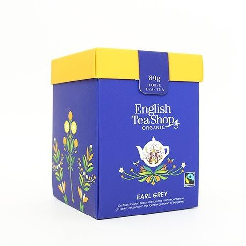 English Tea Shop Earl Grey Økologisk - 80 gram