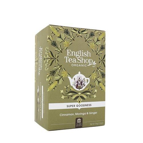 English Tea Shop Cinnamon, Moringa & Ginger te Øko. - 20 breve