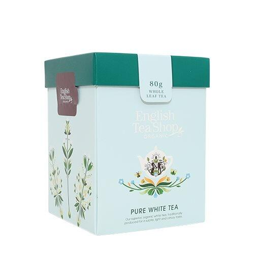 English Tea Shop Pure White Tea Øko. - 80 gram