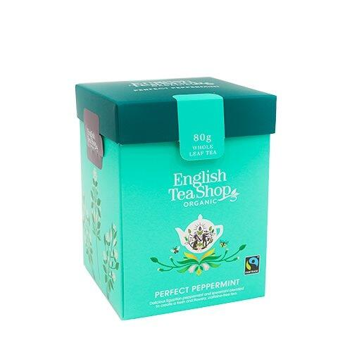 English Tea Shop Perfect Peppermint Øko. - 80 gram