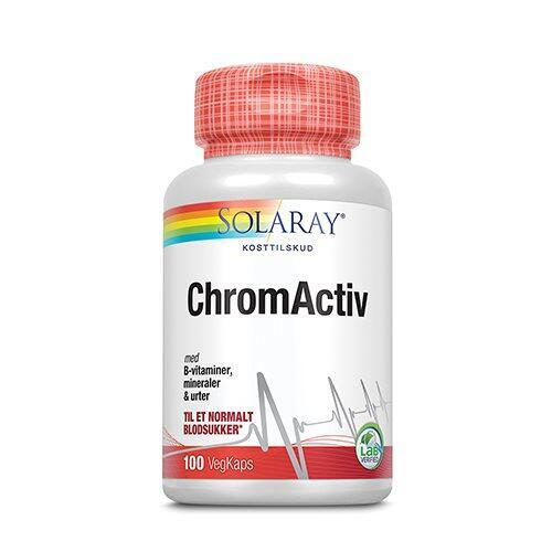 ChromActiv Solaray - 100 kapsler