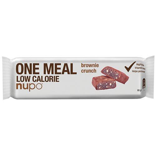 Nupo meal bar brownie crunch - 60 gram