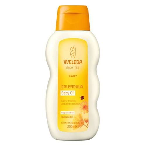 Weleda Calendula Baby Oil - 200 ml.