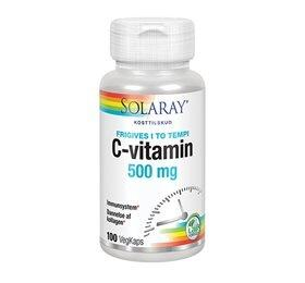 Solaray C-vitamin 500 mg - 100 kapsler