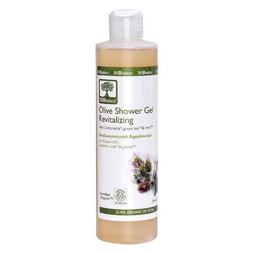 Bioselect Oliven Bade Gel/fornyende Revitalizing - 200 ml.