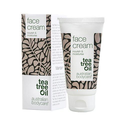 Tea tree oil Face Cream - nourish & moisturise - 50 ml.