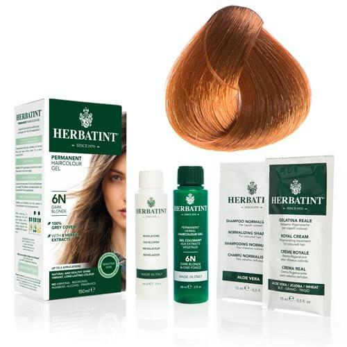 Herbatint 8R hårfarve Light Copper Blond - 135 ml.