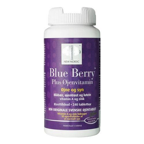 Blue Berry 10 mg. - 240 tabletter