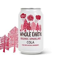 Whole Earth Cola i dåse Øko. - 330 ml.