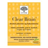 Clear Brain - 60 tabletter