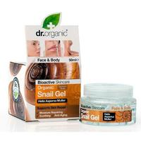 Dr. Organic Snail Gel face and body - 50 ml.