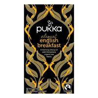 Pukka Elegant English Breakfast te Økologisk - 20 breve