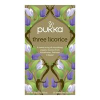 Three Licorice te Øko Pukka 20 breve