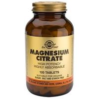 Magnesium citrat 200 mg. - 120 tabletter
