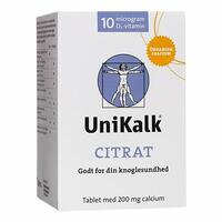 Unikalk Citrat - 130 tabletter