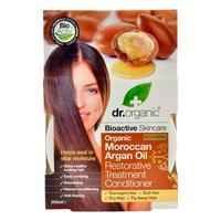 Hair treatment conditioner Argan Dr. Organic - 200 ml.