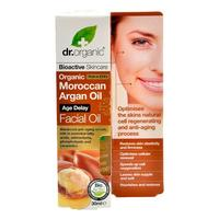 Facial serum Argan Dr. Organic - 30 ml.