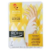 Repair hand mask peach Iroha - 18 ml.
