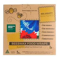 Beeswax Food Wraps 2 x Medium - 1 pk.