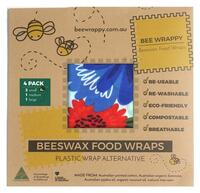 Beeswax Food Wraps 2 x Small - 1pk