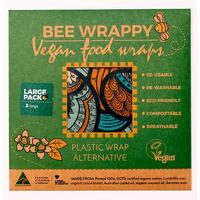 Vegan Food Wraps - 2 x large - 1 pk