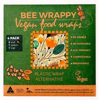Vegan Food Wraps - 4 pak