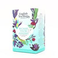 English Tea Shop Because You´re Amazing te Øko. - 20 breve