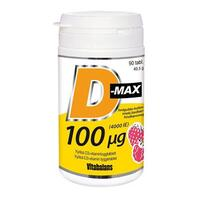 D-max 100 μg - 90 tabletter