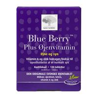 Blue Berry plus øjenvitamin - 120 tabletter