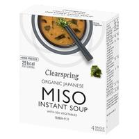 Instant Miso Soup - with Sea Vegetable økologisk - 40 gram
