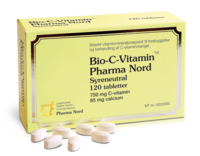 Bio C-Vitamin 750 mg. - 120 tabl.