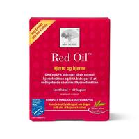 Red Oil omega-3 krill olie - 60 kapsler